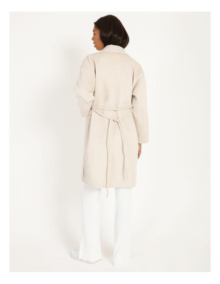 Longline Belted Coat image 3