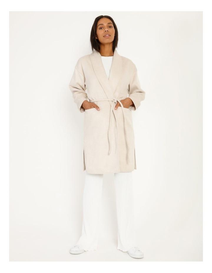 Longline Belted Coat image 4