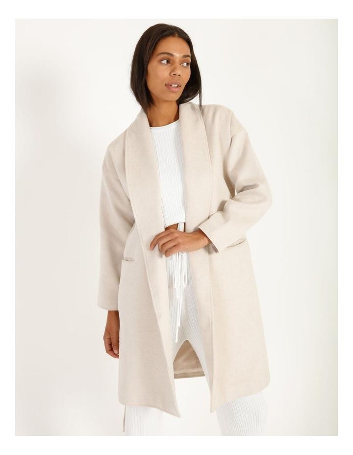 Longline Belted Coat image 5