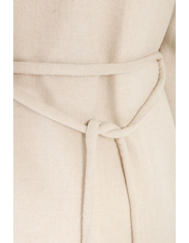 Longline Belted Coat image 7