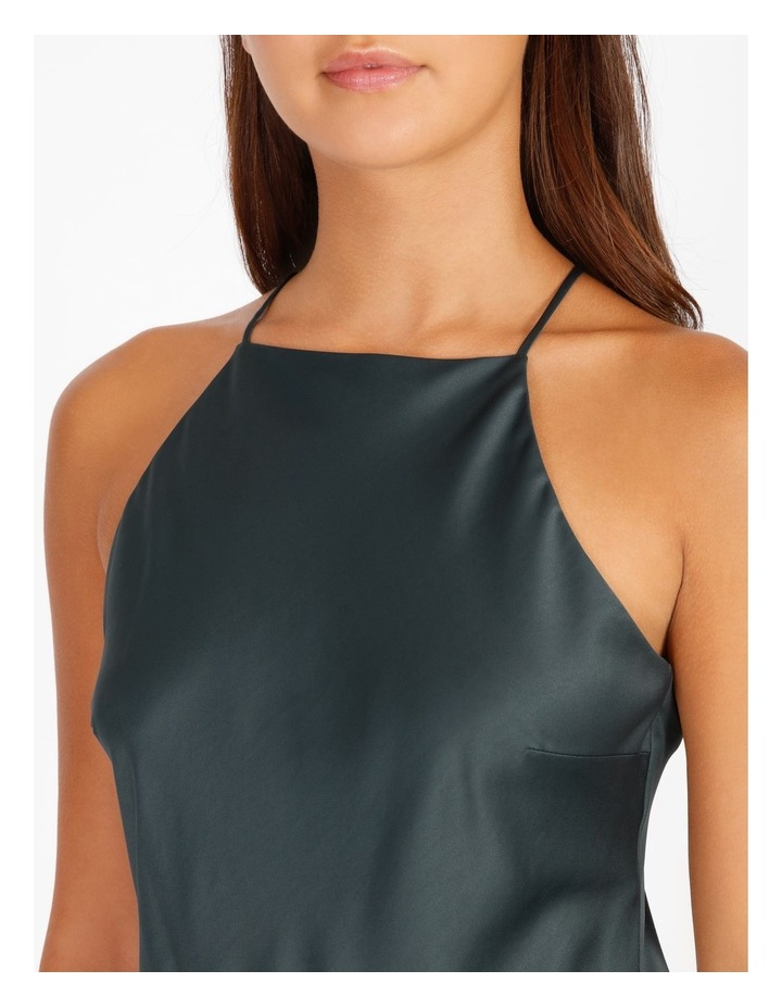 Halter Cowl Neck Dress image 5