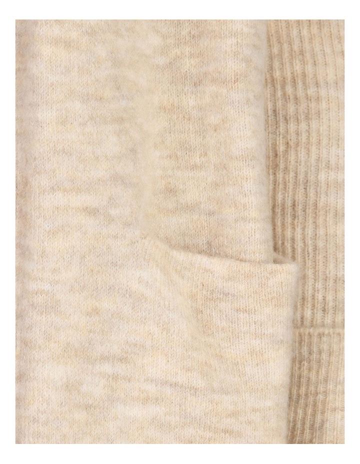 Longline Rib Sleeve Cardigan image 5