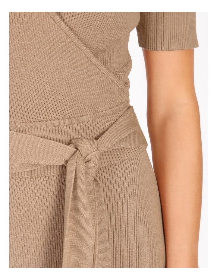Rib Wrap Short Sleeve Knit image 5