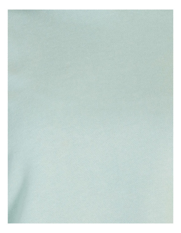 Hooded Cropped Sweat - Mint image 5
