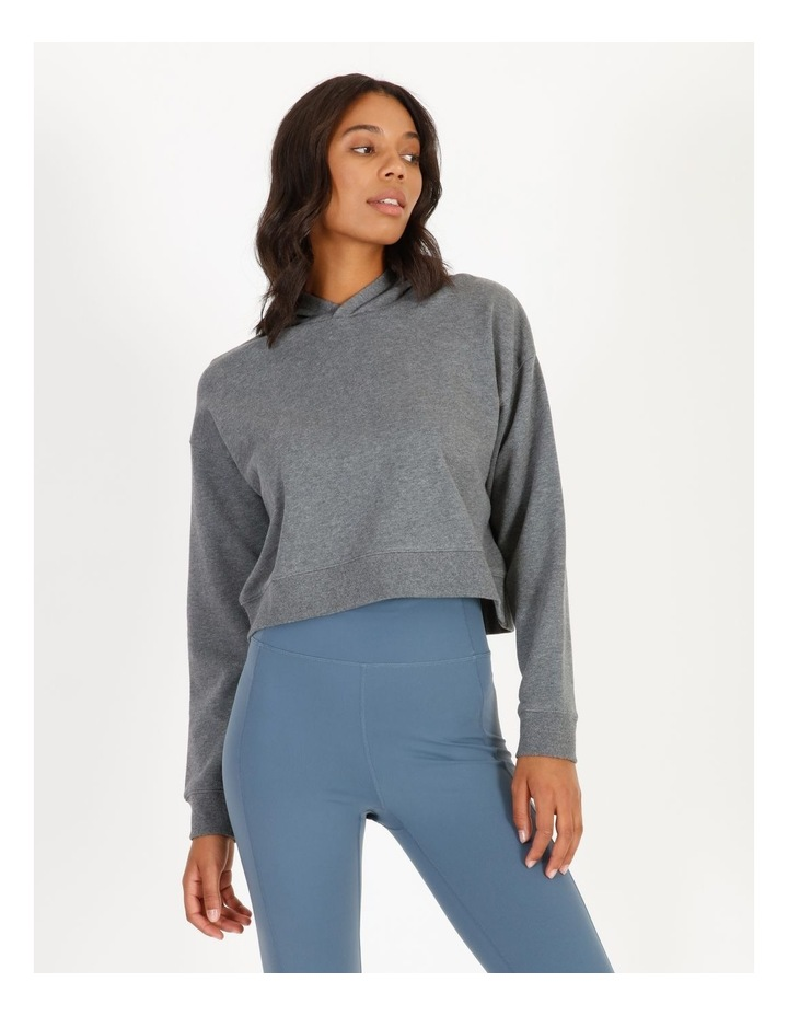 Hooded Cropped Sweat image 1