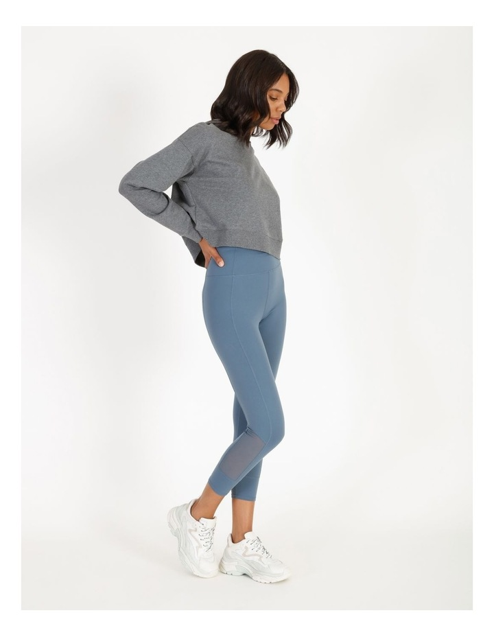 Hooded Cropped Sweat image 2