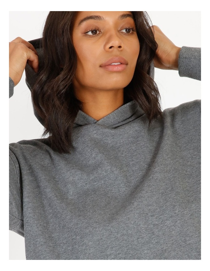 Hooded Cropped Sweat image 4