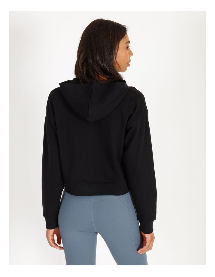 Hooded Cropped Sweat image 3