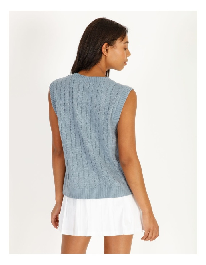 Knitted Cable Vest image 3
