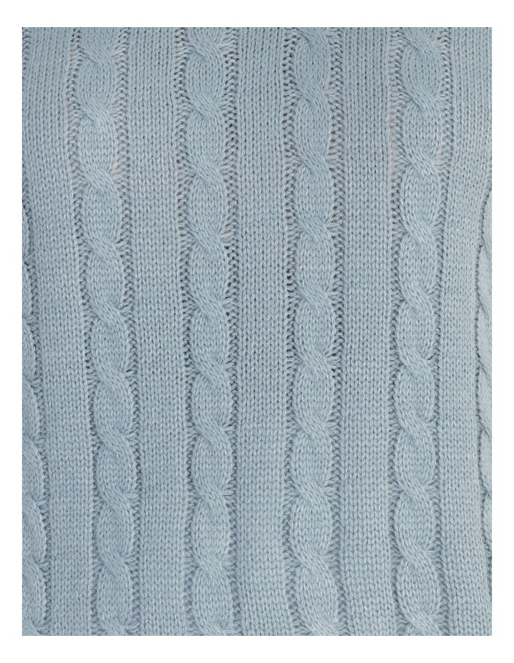 Knitted Cable Vest image 5