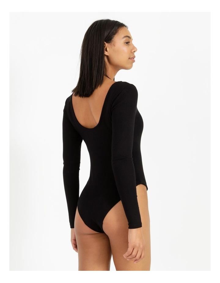Scoop Neck Bodysuit image 4