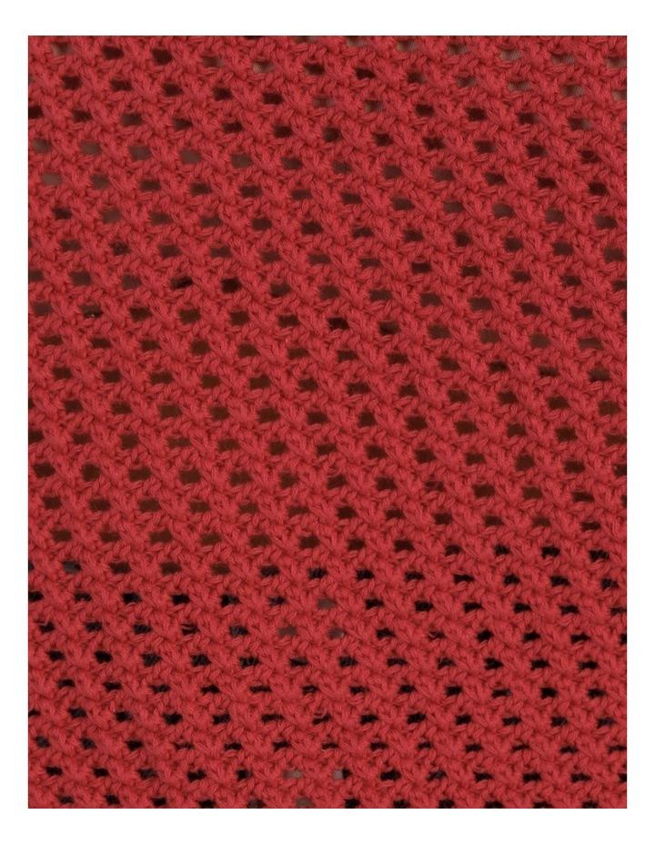 Open Weave Cami Cherry image 7
