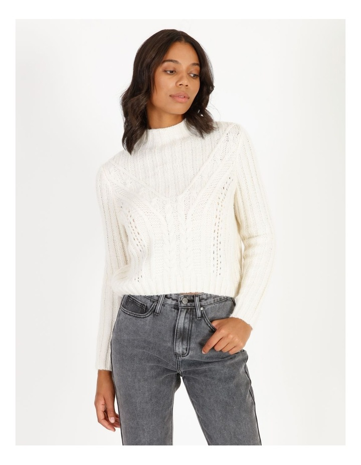 High Neck Cable Jumper image 1