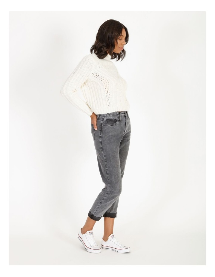 High Neck Cable Jumper image 2