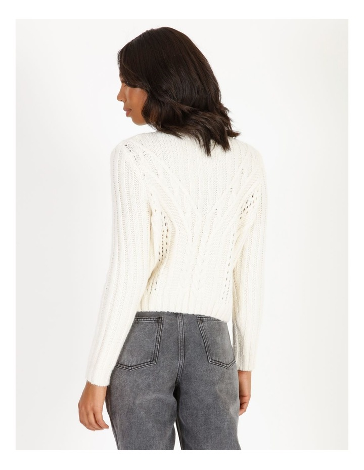 High Neck Cable Jumper image 3
