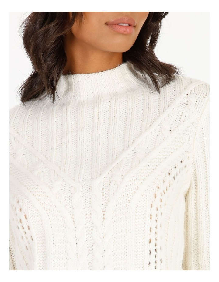 High Neck Cable Jumper image 4