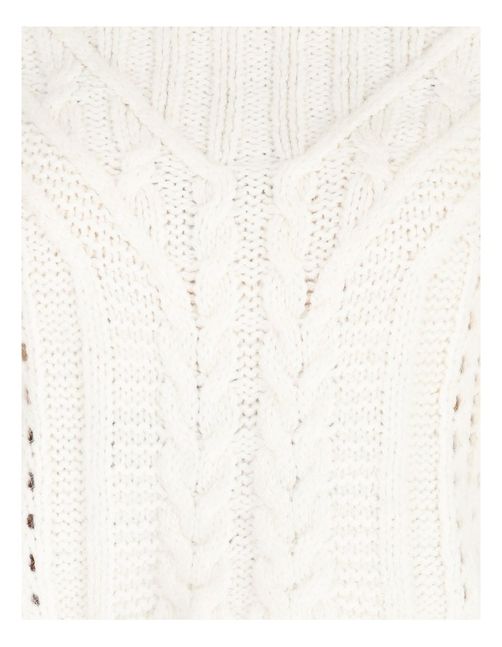 High Neck Cable Jumper image 5