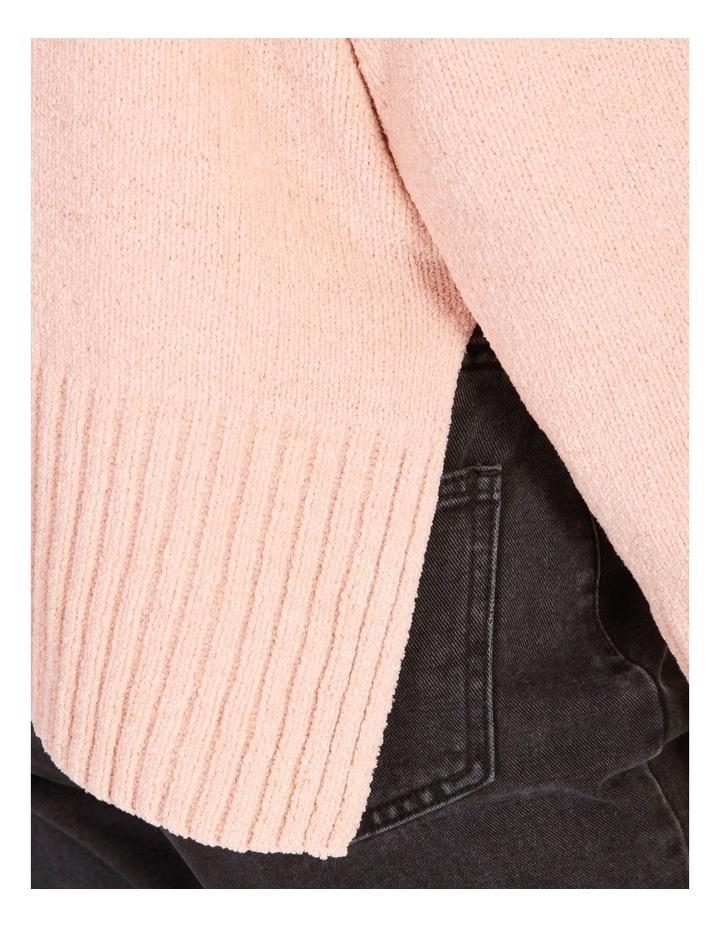 Stand Neck Split Side Knit image 4
