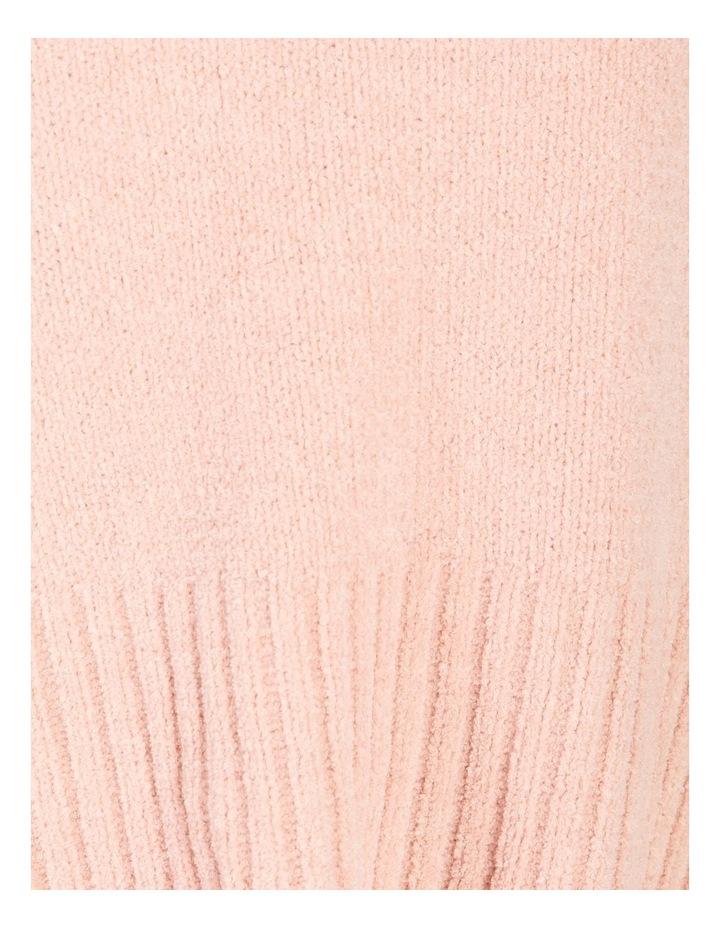 Stand Neck Split Side Knit image 5