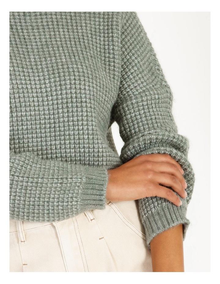 Chunky Boxy Knit image 4