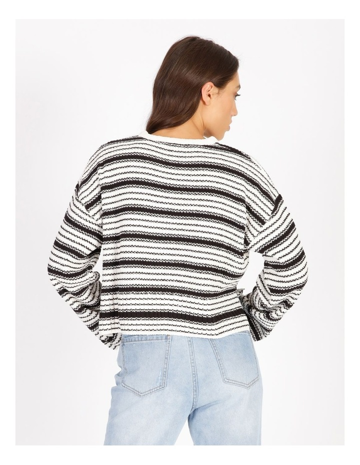 Textured Stripe Knit image 3