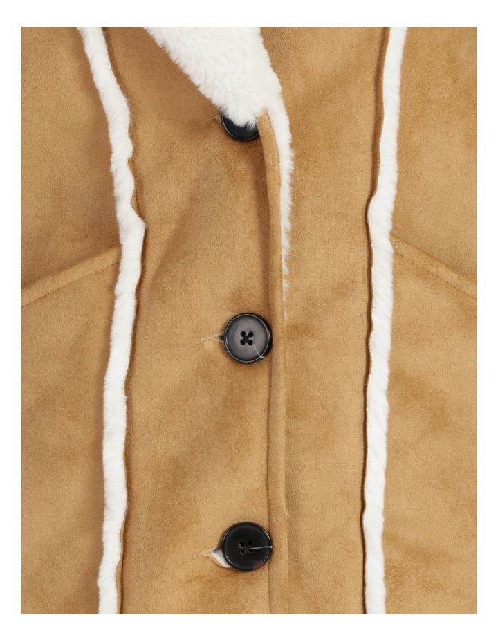 Faux Suede Coat image 7