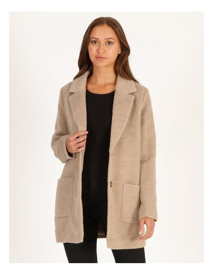 Drop Shoulder Coat image 1