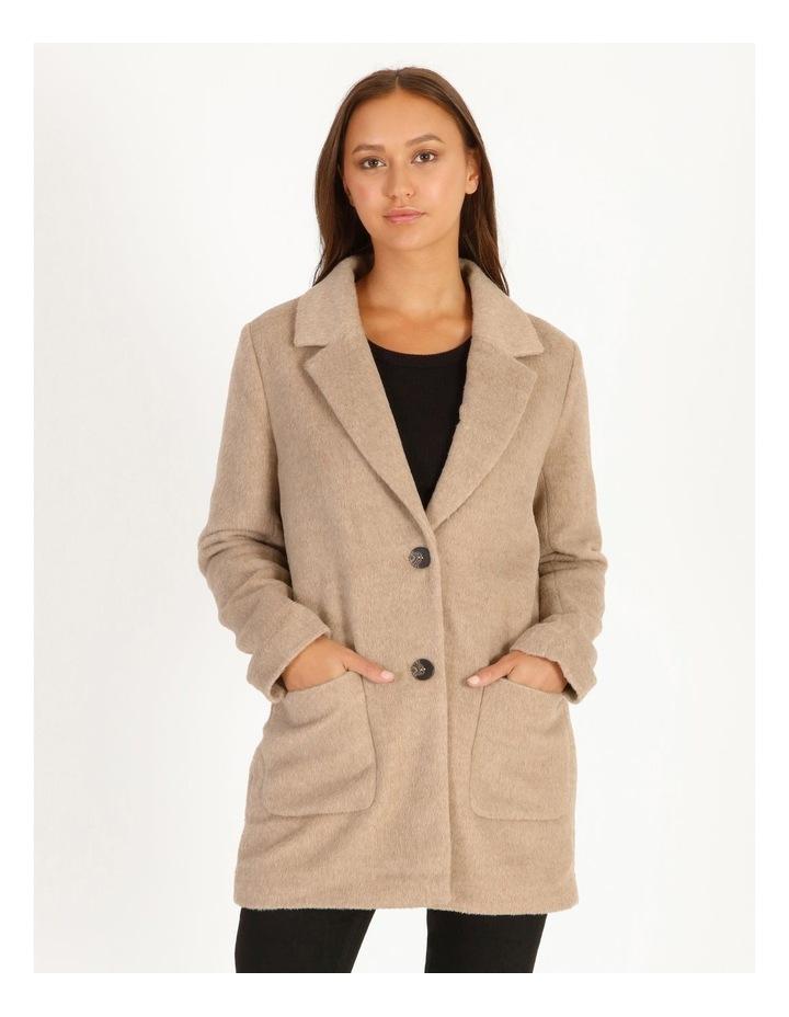 Drop Shoulder Coat image 4