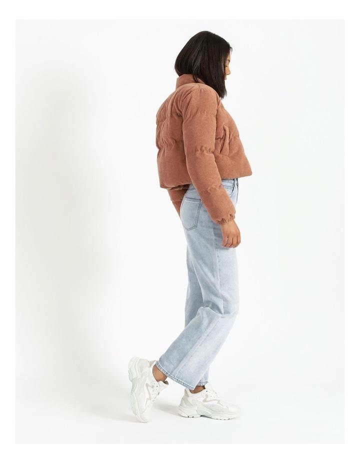 Cord Puffer Jacket image 2