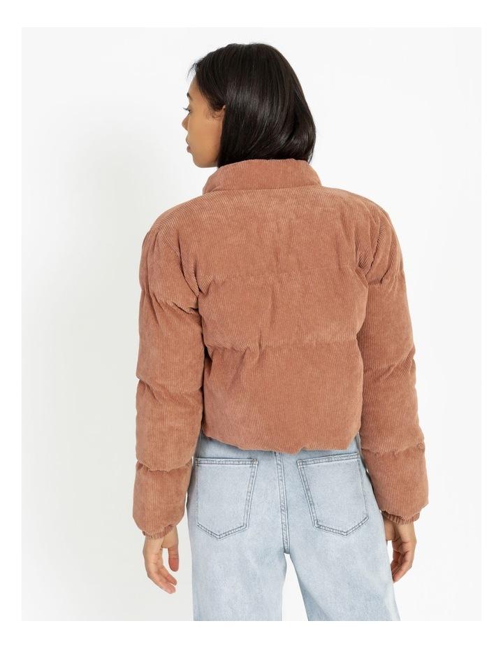 Cord Puffer Jacket image 4