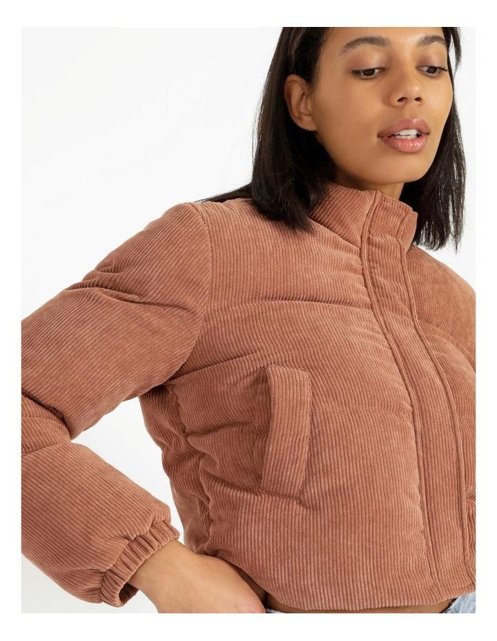Cord Puffer Jacket image 5