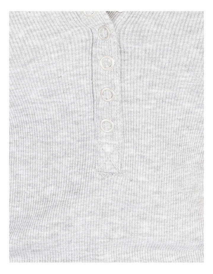 Long-Sleeve Henley Tee image 5