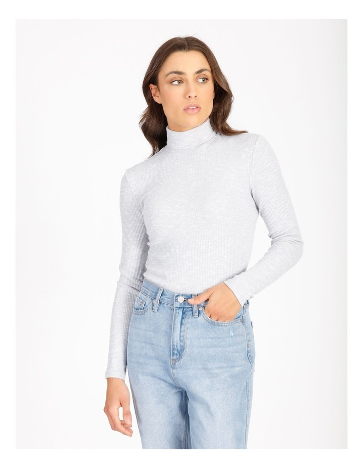 Long-Sleeve Roll Neck Top image 1