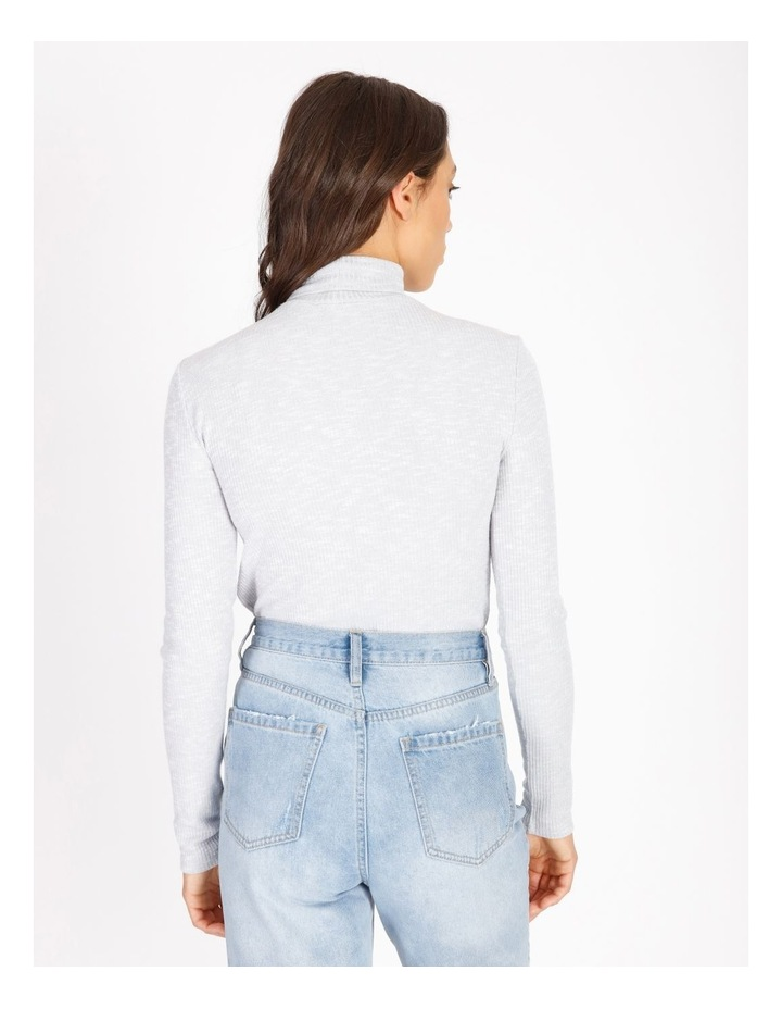 Long-Sleeve Roll Neck Top image 3