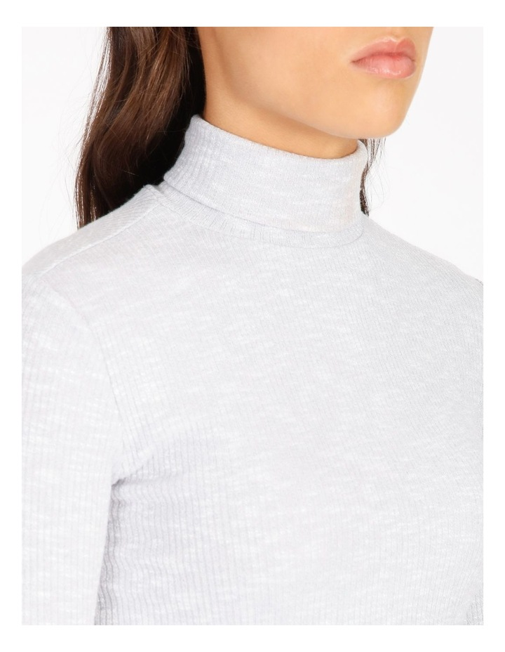 Long-Sleeve Roll Neck Top image 4
