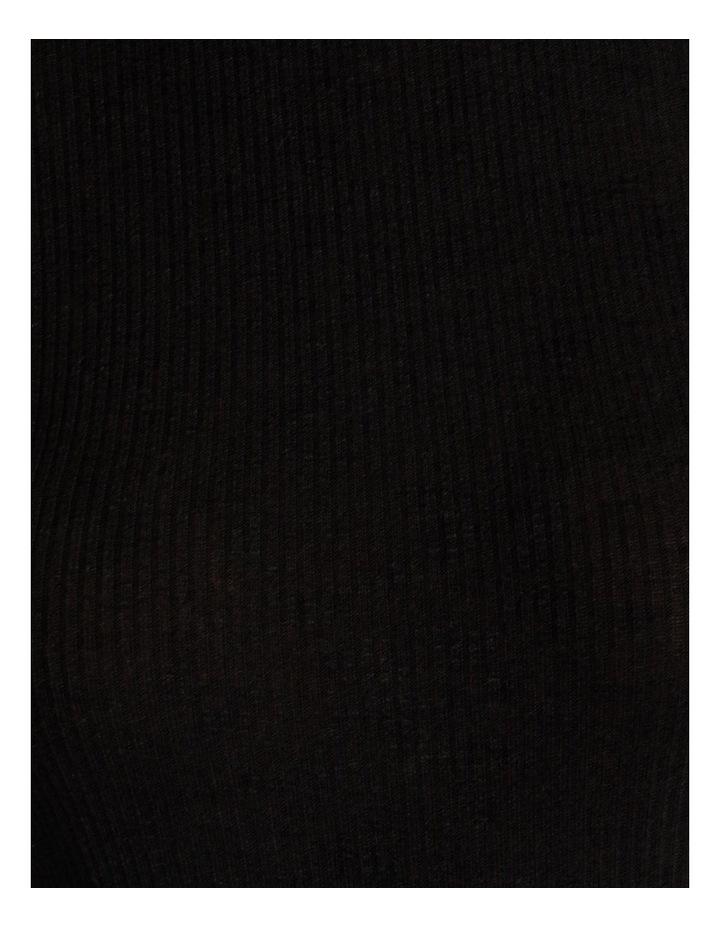 Roll Neck Long Sleeve Rib Top image 7