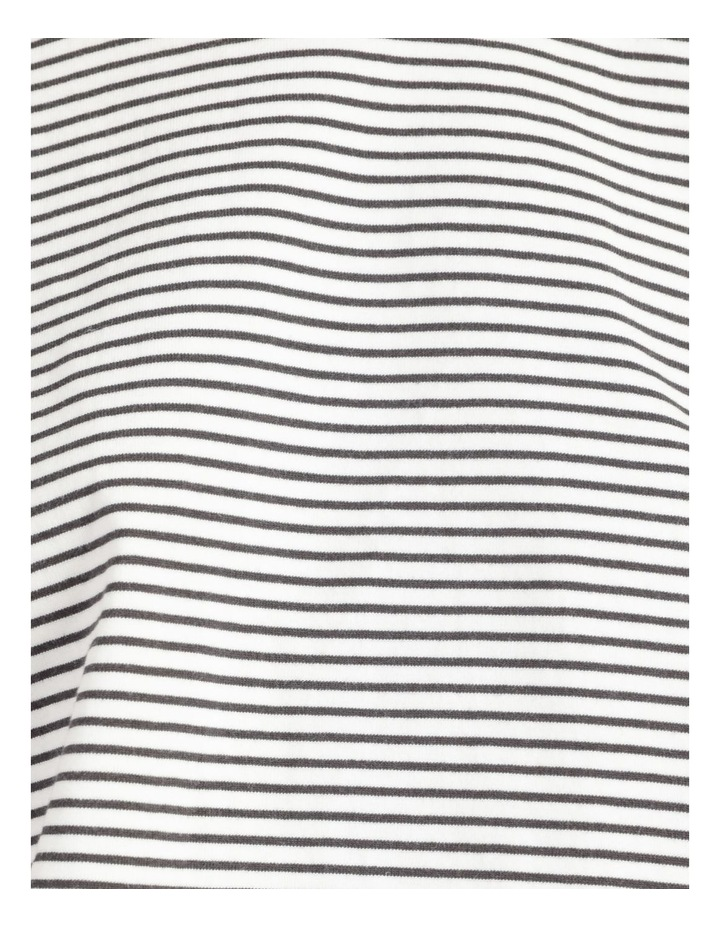 Stripe Jersey Elasticated Hem Tee image 7