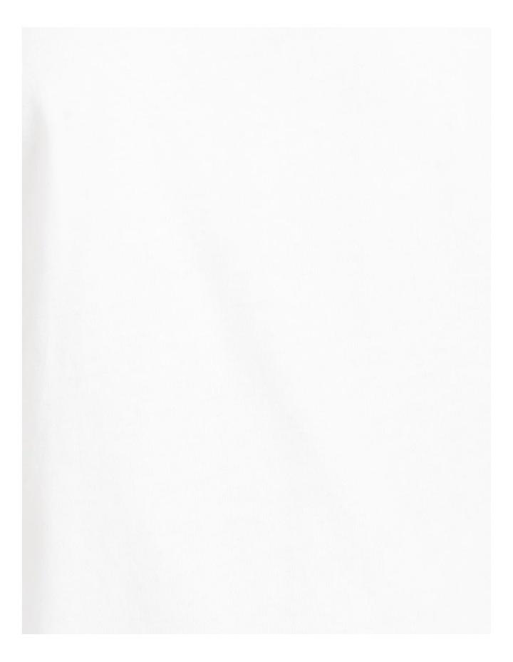 Roll Cuff Jersey Tee Bright White image 7