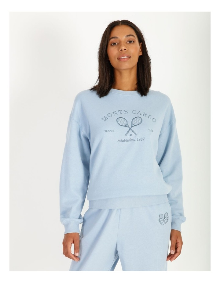 Country Club Embroidered Sweat image 1