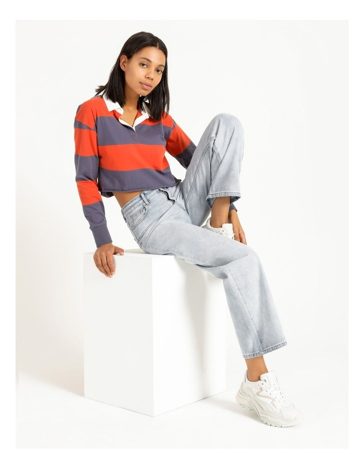 Cropped Rugby Polo Sweat image 2
