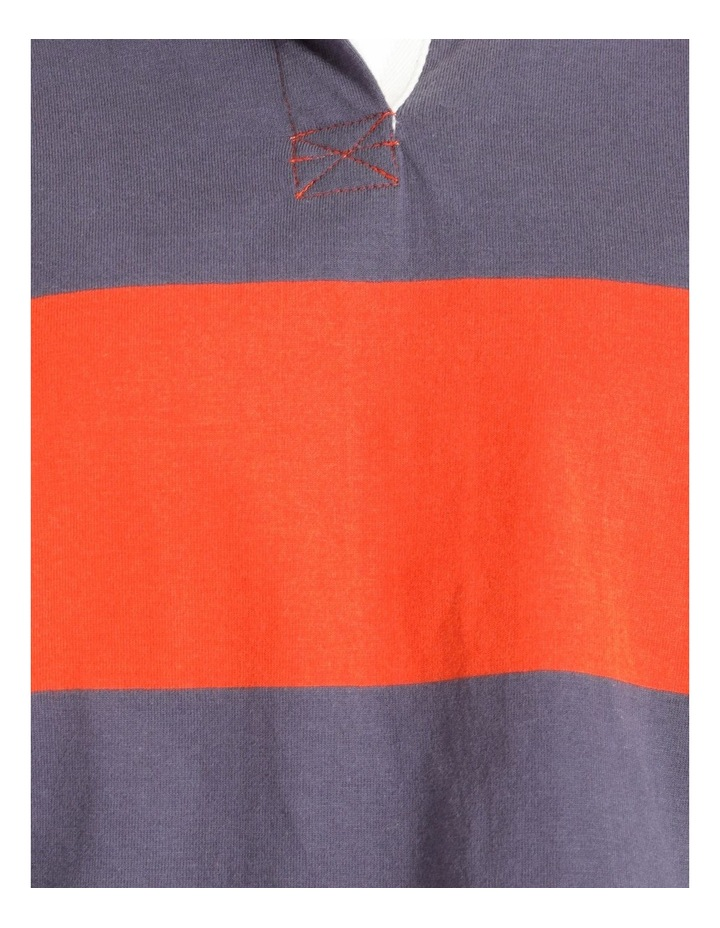 Cropped Rugby Polo Sweat image 6