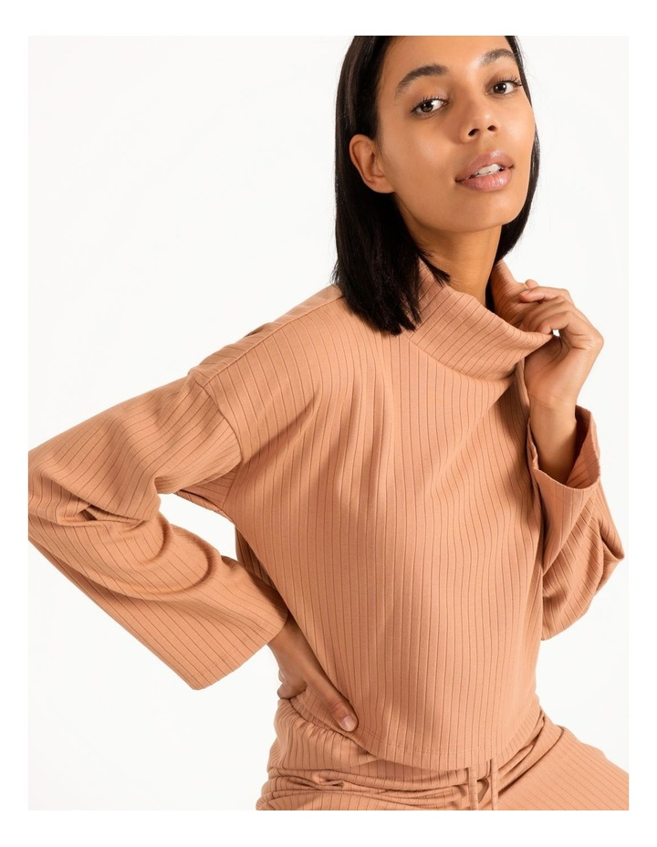 Rib Relaxed Sweat image 3