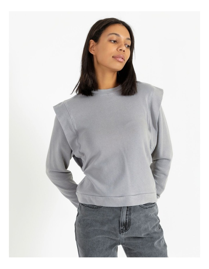 Extended Sleeve Sweat Top image 1