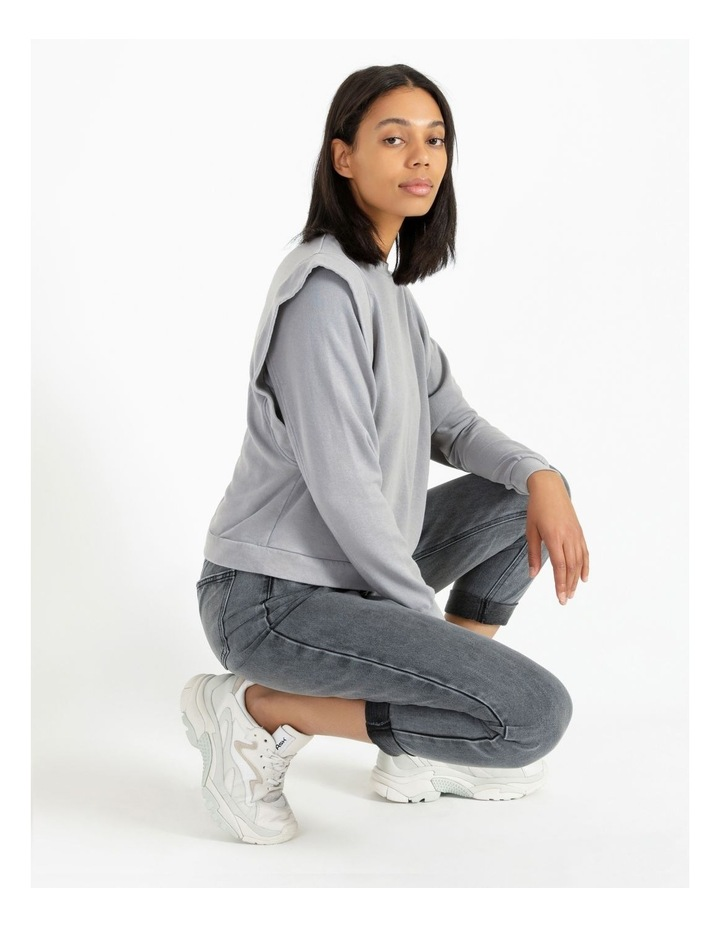 Extended Sleeve Sweat Top image 2