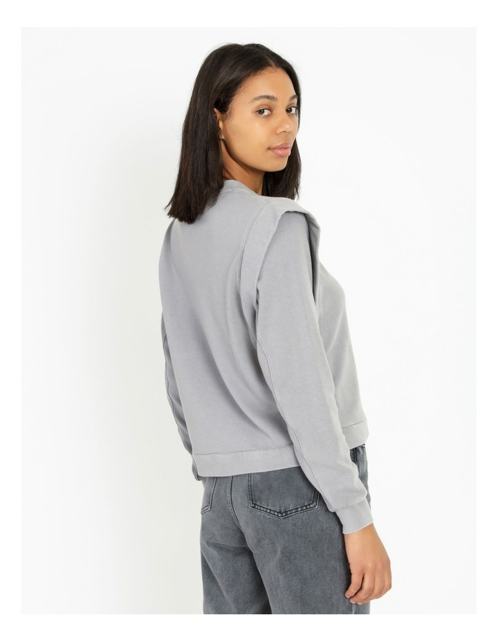 Extended Sleeve Sweat Top image 4