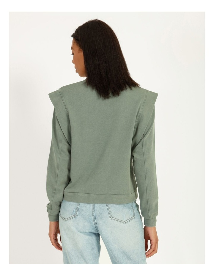 Extended Sleeve Sweat Top image 3