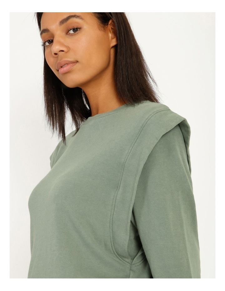 Extended Sleeve Sweat Top image 5
