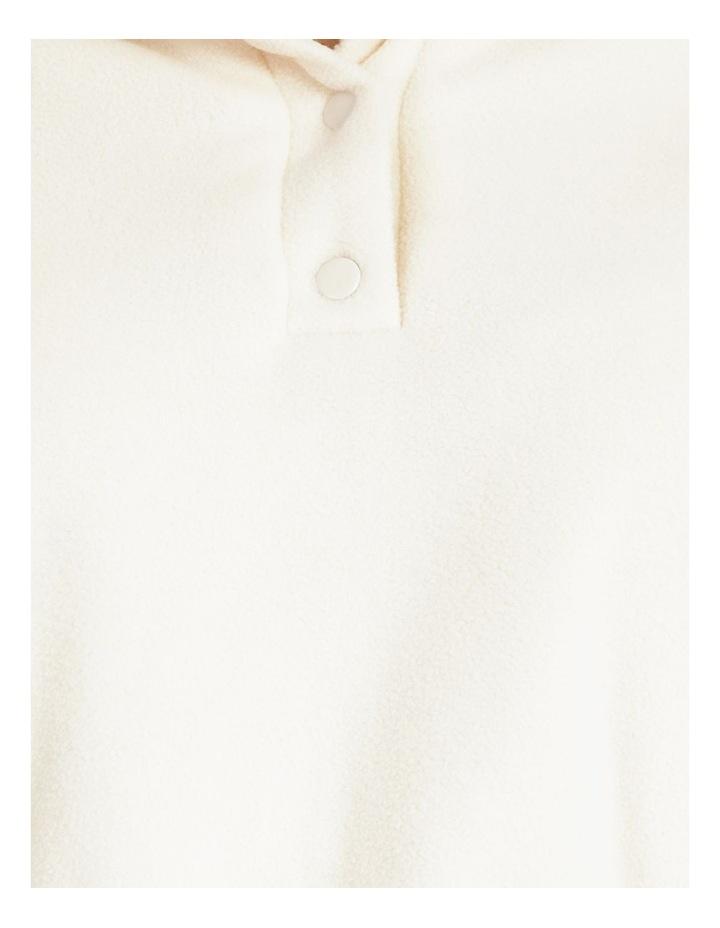 Fleece Half Button Neck Sweat image 5