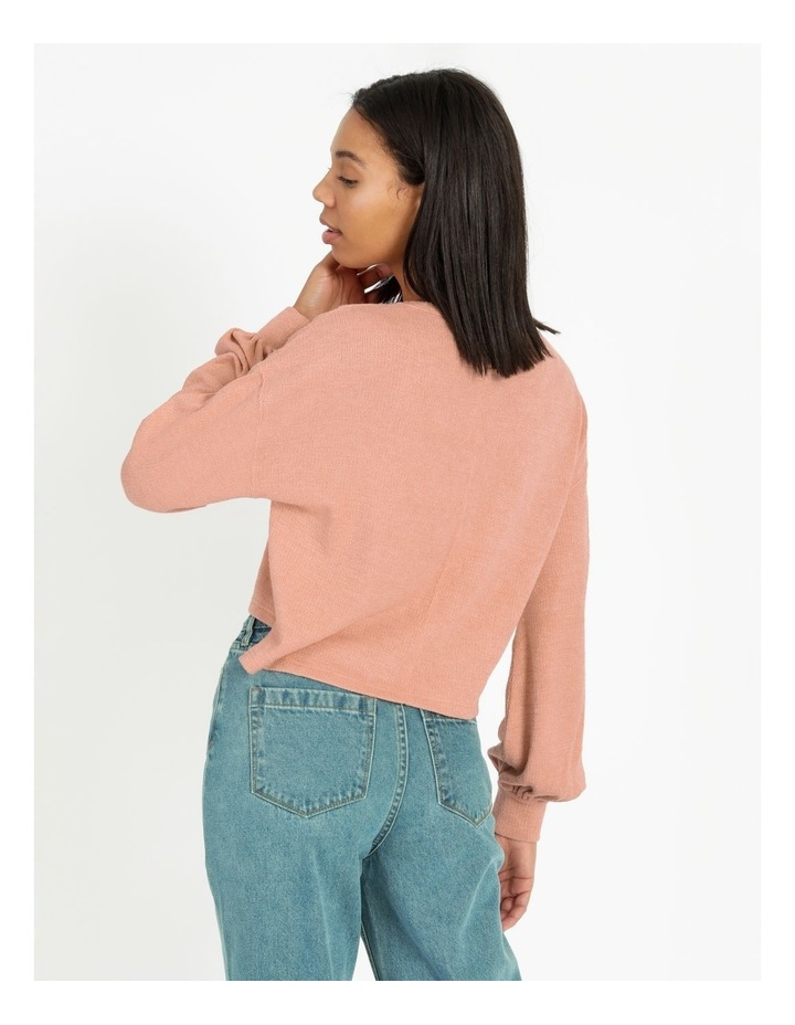 Vee Neck Soft Touch Sweat image 3