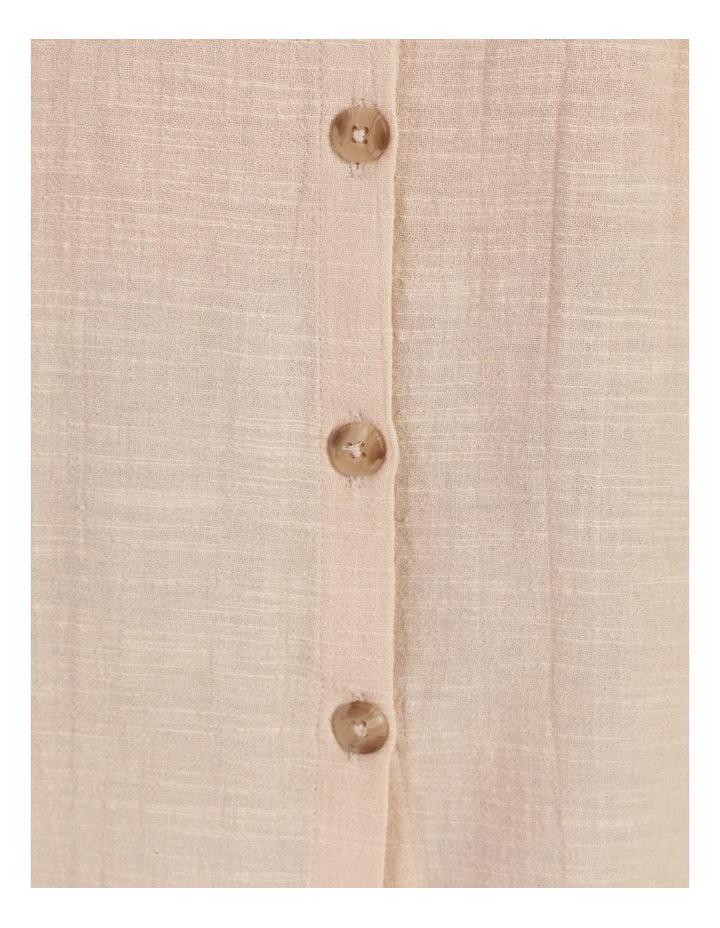 Ruffle Sleeve Tie Front Shirt image 7